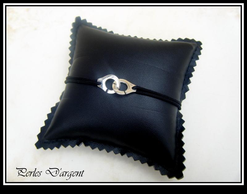 """Bracelet """"menottes"""" par Perles-d-argent"""