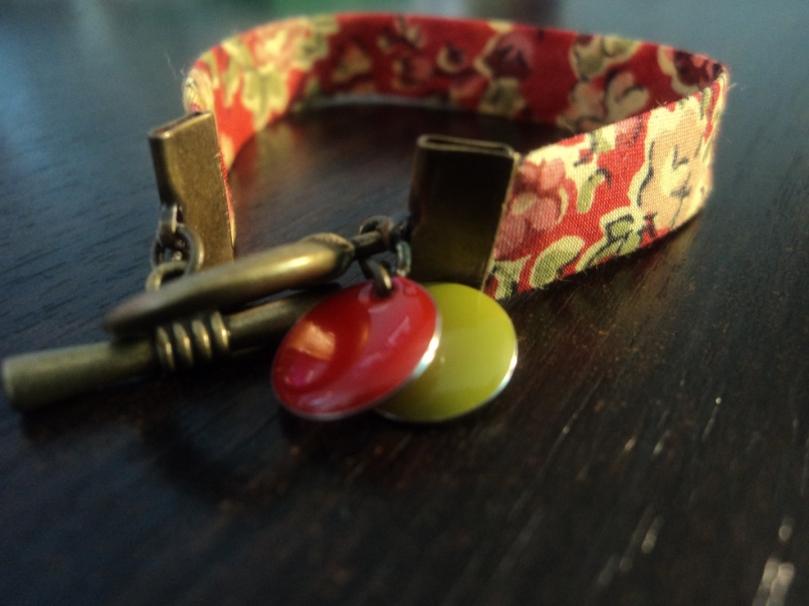 Bracelet Liberty Tatum rouge