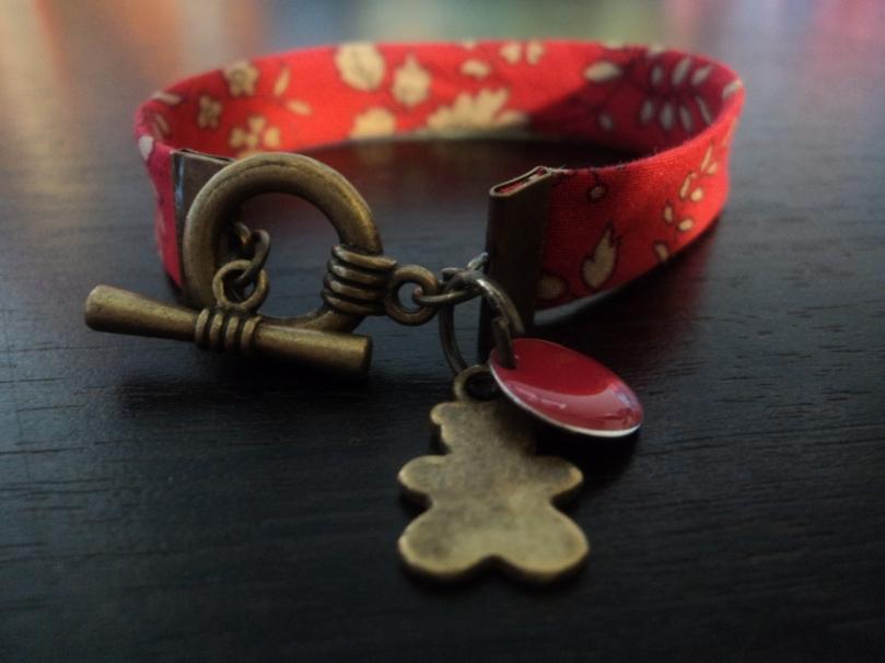 Bracelet Licerty capel ourson 15 cm