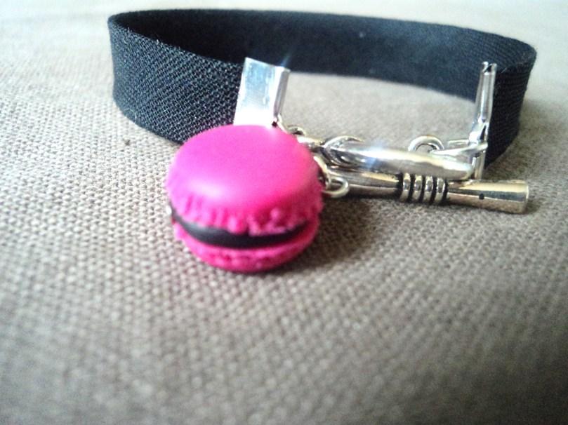 """Bracelet """"Mon macaron"""""""