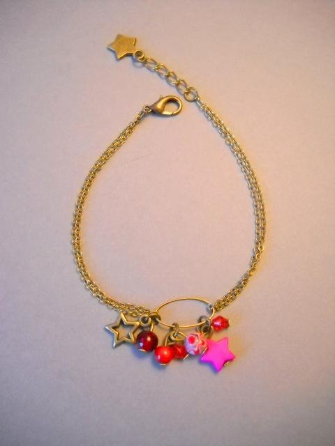 """Bracelet """"La tête dans les étoiles"""""""